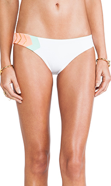 L*SPACE Geo Hipster Bottom in White