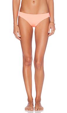 L*SPACE Emma Reversible Bikini Bottom in Electrical Coral