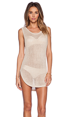 L*SPACE Tallulah Cover Up in Natural