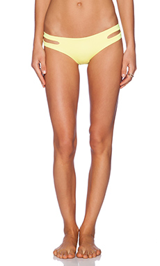 L*SPACE Estella Bikini Bottom in Daffodil
