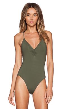 L*SPACE Wild Side Swimsuit in Fern
