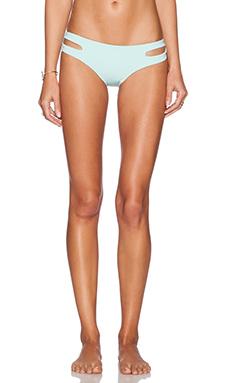 L*SPACE Estella Bikini Bottom in Seaglass