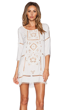 L*SPACE Frida's Tunic in White
