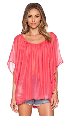 L*SPACE Summer Nights Cover Up in Geranium