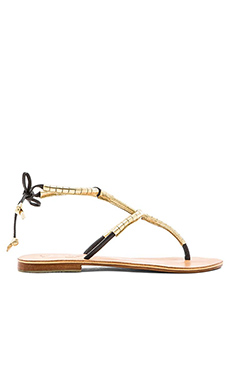 L*SPACE by Cocobelle Milano Sandal in Black