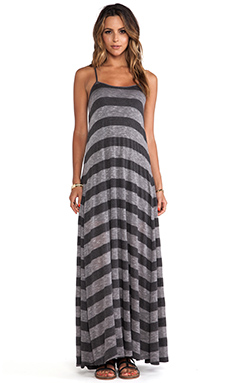 Lucca Couture Maxi Dress in Charcoal