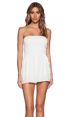 Lucca Couture Romper in White