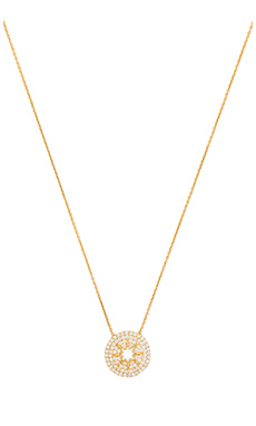 Lucky Star Stargazer Necklace in Gold