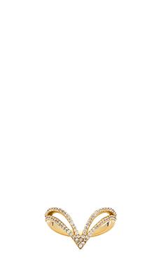Lucky Star Vela Ring in Gold