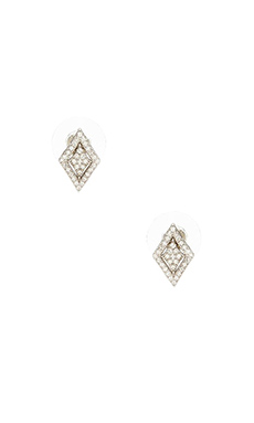 Lucky Star Windsor Stud Earring in Silver