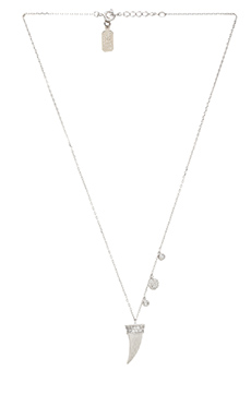Lucky Star Cornicello Necklace in Silver