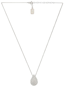 Lucky Star Vermeil Raindrop Necklace in Silver