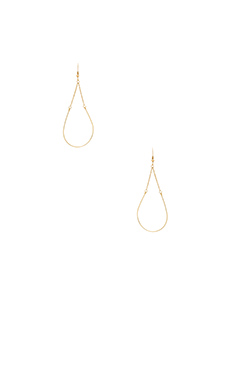 Lucky Star Chainette Earrings in Gold