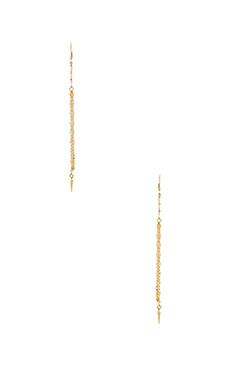 Lucky Star Curtain Call Earrings in Gold
