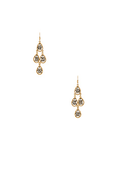 Lucky Star Prive Earring in Gold & Grey
