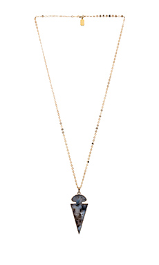 Lucky Star Gaia Chain Necklace in Labradorite