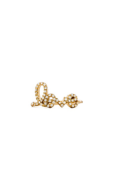 Lucky Star Love Ring in Gold