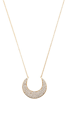 COLLIER SMILING MOON