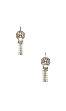 Lucky Star Medina Earrings in Silver