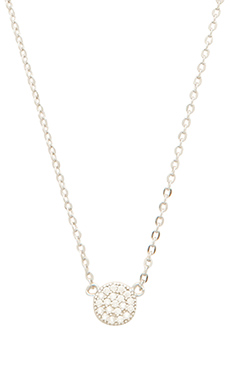 Lucky Star Mini Eternity Necklace in Silver