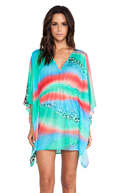 Luli Fama Caftan Dress in Multi
