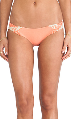Luli Fama Intertwine Hot Buns Bottom in Beachy Coral