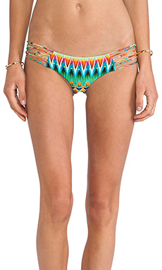 Luli Fama Skinny Knots Hot Buns Bottom in Tulum Multi