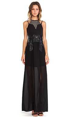 Lumier The Eleventh Hour Maxi Dress in Black