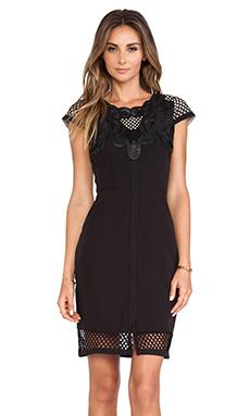Lumier The Eleventh Hour Mini Dress in Black