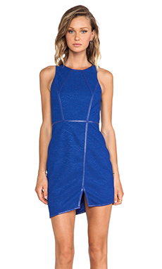 Lumier The Ripple Effect Mini Dress in Blue