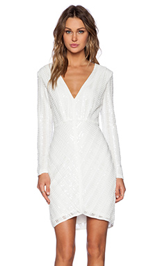Lumier Loved & Lost Mini Dress in White
