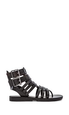 Luxury Rebel Dulcie Gladiator in Black