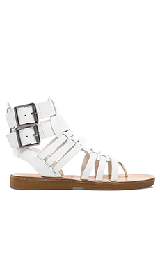 Luxury Rebel Dulcie Gladiator in White