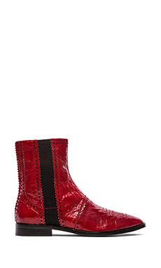 Luxury Rebel Dahlia Boot in Rosso