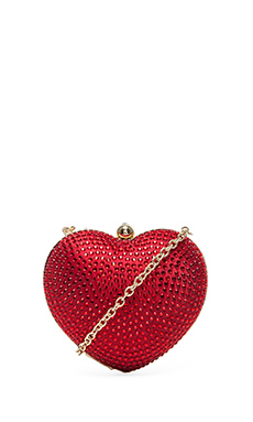 Love Moschino Evening Bag in Rosso