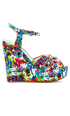 JUNGLE WEDGE HEELS