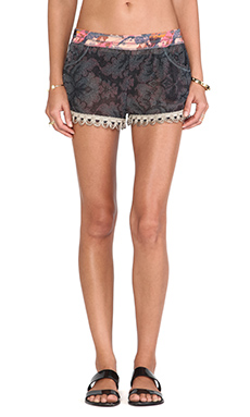 Maaji Contrast Shorts in Mosaic Oaks