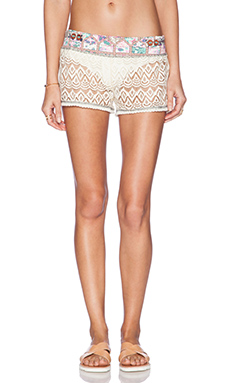 Maaji Clark Lace Short in Ivory