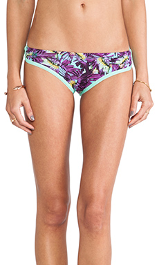 Maaji Sporty Ruched Bottom in Darling Bella