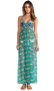 Maaji Underwire Maxi Dress in Chimera Goddess