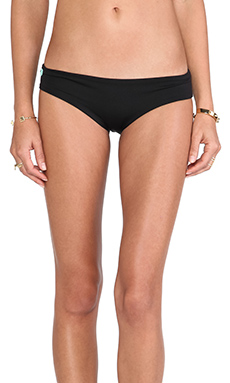 Maaji Signature Bikini Bottom in Black Beauty