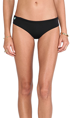 Maaji Chi Chi Bikini Bottom in Black Thunder