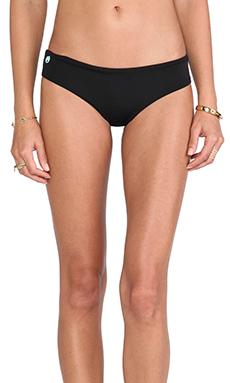 Maaji Chi Chi Bikini Bottom in Black Thunder