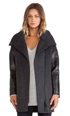 Mackage Rhoda Jacket in Charcoal
