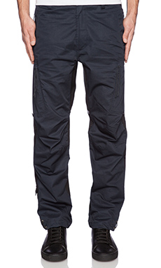 Maharishi Tour Custom Cargo Pants in Black & Navy