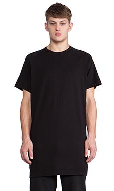Maharishi Long Slouch T-Shirt in Black