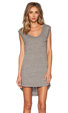 MAISON DU SOIR Dahlia Dress in Heather Grey