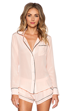MAISON DU SOIR Sophia Top in Light Pink
