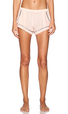 MAISON DU SOIR Jaclyn Short in Light Pink