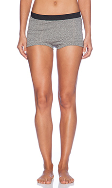 MAISON DU SOIR Peony Boy Short in Heather Grey